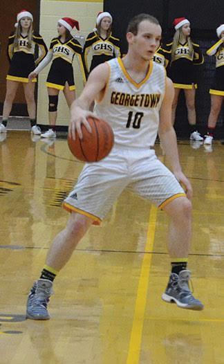 Leading the Georgetown G-Men in the Dec. 20 win over Felicity-Franklin were Jonny Strickland and Christian Linville with 15 points each.
